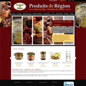 Produits de région, épicerie fine en ligne